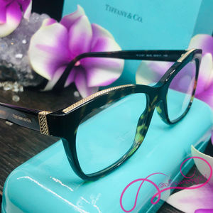 NWOT Tiffany & Co. Havana Eyeglass Frames, TF2167